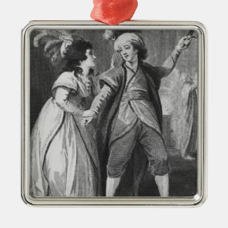 Ms. Brunton and Mr. Holman as Palmira and Metal Ornament