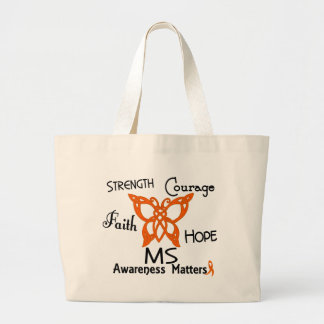 MS Celtic Butterfly 3 Large Tote Bag