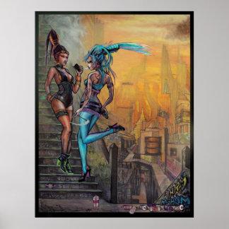 Ms. Chif & May Hem Poster