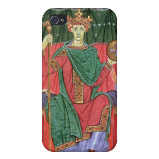 Ms Cim.4453 f.42r Holy Roman Emperor Otto III Enth Case For iPhone 4