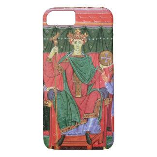 Ms Cim.4453 f.42r Holy Roman Emperor Otto III Enth iPhone 8/7 Case