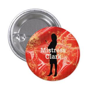 Ms Clark Button Pin Redondo De 1 Pulgada