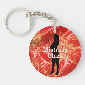 Ms. Clark Key Chain