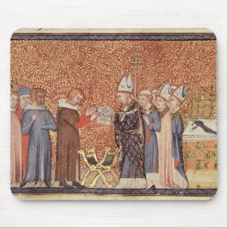 Ms Cotton Tib B VIII f.47 Coronation Scene Mouse Pad