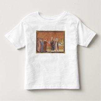 Ms Cotton Tib B VIII f.47 Coronation Scene T Shirt