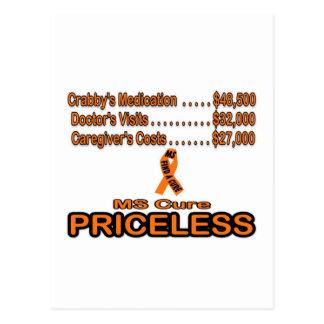 MS CURE PRICELESS ITEM POSTCARD