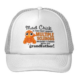 Ms de abuelo de la esclerosis múltiple del polluel gorro de camionero