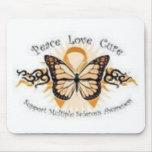 Ms de la curación del amor de la paz alfombrillas de ratón
