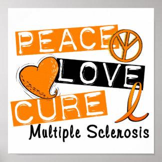 Ms de la esclerosis múltiple de la curación del am impresiones