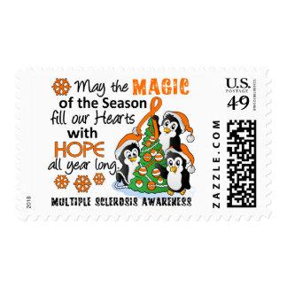 Ms de la esclerosis múltiple de los pingüinos del sello