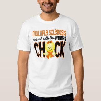 Ms de la esclerosis múltiple ensuciado con el camisas