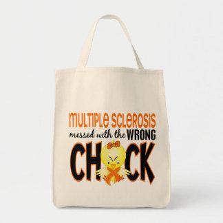 Ms de la esclerosis múltiple ensuciado con el poll bolsa de mano