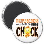 Ms de la esclerosis múltiple ensuciado con el poll imanes