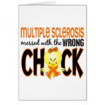 Ms de la esclerosis múltiple ensuciado con el poll felicitación