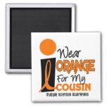 Ms de la esclerosis múltiple llevo el naranja para imanes