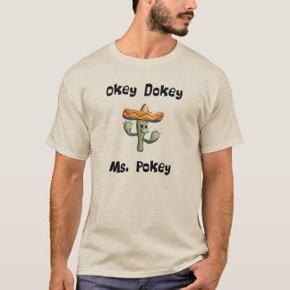Ms de Okey Dokey Pokey (#1) Playera