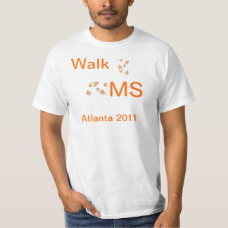 Ms del paseo de la camiseta playera