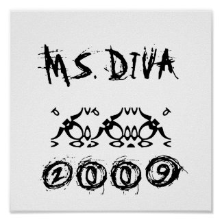 MS. DIVA, 2009, 009 POSTER