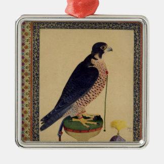 Ms E-14 Falcon, from a Moraqqa Metal Ornament