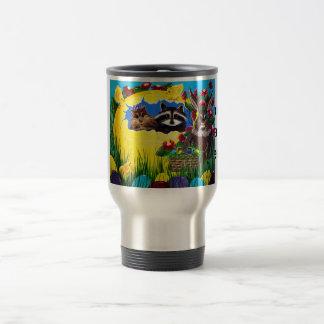 """Ms. Elizabeth's Easter World Travel Mug"