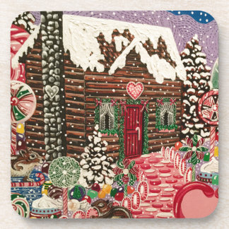 Ms. Elizabeth's Peppermint World Coaster