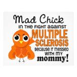 Ms enojado de la esclerosis múltiple de la mamá de flyer personalizado