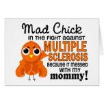 Ms enojado de la esclerosis múltiple de la mamá de felicitación