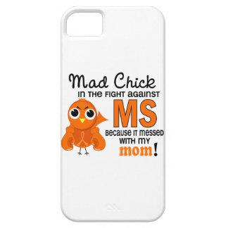 Ms enojado de la esclerosis múltiple de la mamá iPhone 5 carcasas
