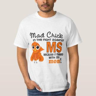 Ms enojado de la esclerosis múltiple de la mamá playera