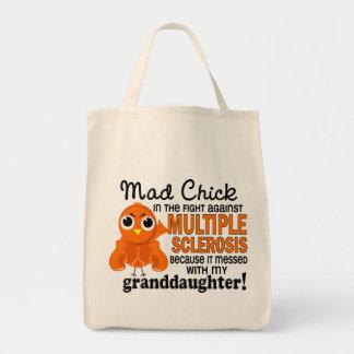 Ms enojado de la esclerosis múltiple de la nieta d bolsa tela para la compra