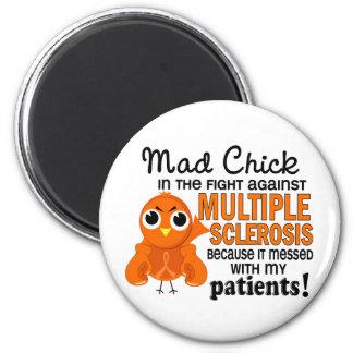 Ms enojado de la esclerosis múltiple de los pacien imanes para frigoríficos