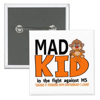 Ms enojado del niño pins