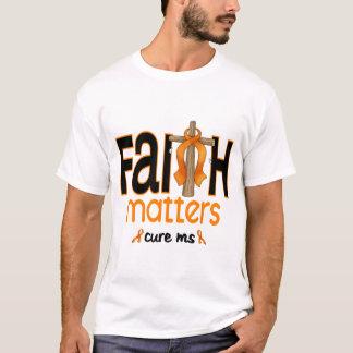 MS Faith Matters Cross 1 T-Shirt