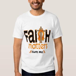 MS Faith Matters Cross 1 Tee Shirt