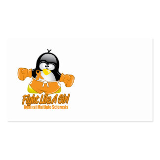 MS Fighting Penguin Business Card