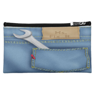 Ms. Fix It Medium Cosmetic Bag