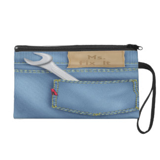 Ms. Fix It Wristlet