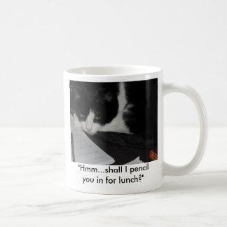 Ms Fiz ponders..... Classic White Coffee Mug