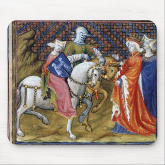 Ms Fr. 120 The Lady of the Lake Meeting Guinevere, Mouse Pad