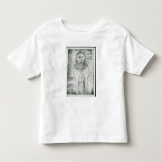 Ms Fr 19093 fol.24v Lion and Porcupine Toddler T-shirt