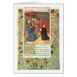 Ms Fr.2679 f.377 Jacques Coeur (c.1395-1456) del a Tarjeta De Felicitación