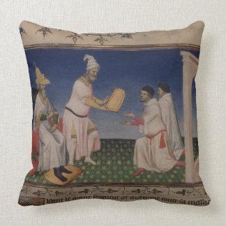 Ms Fr 2810 f 3v Kublai Khan 1214-94 que da su g Almohada