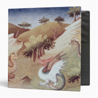 Ms Fr 2810 f.55v Dragons and other beasts 3 Ring Binder