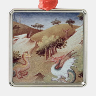 Ms Fr 2810 f.55v Dragons and other beasts Christmas Tree Ornament