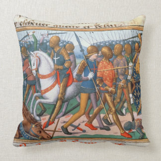 Ms Fr 5054 f 11 la batalla de Agincourt 1415 par Almohadas