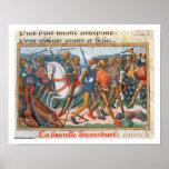 Ms Fr 5054 f.11 la batalla de Agincourt, 1415, par Impresiones