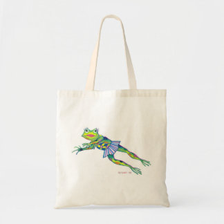 Ms FROGGY tote - copyright ©2003 SylviART™