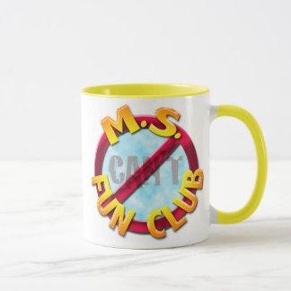 Ms Fun Club no 'CAN'T' mug