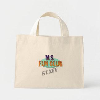 MS Fun Club Staff tote Canvas Bags