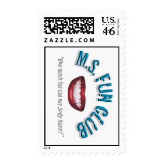 MS Fun Club stamp design 2